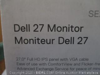 Dell 27 Monitor Powers On