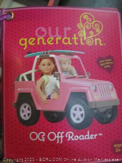 Our Generation OG Off Roader
