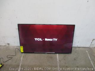 "TCL Roku TV Smart TV FHD 49"" Powers On See Pictures"