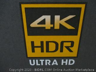 "Sony Netflix 49"" 4K HDR Ultra HD  Powers on See Pictures"