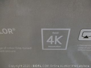 "Samsung UHD TV 4K 55"" defective See Pictures"