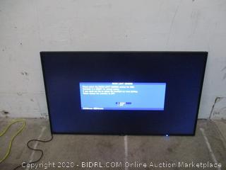 "55"" Monitor LED Powers On"