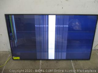 """LG UHD TV 75"""" Powers on See Pictures"""