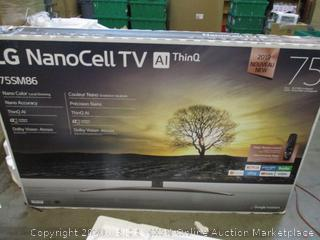 "LG Nano Cell TV 75"" defective See Pictures"