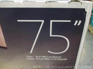 """LG Nano Cell TV 75"""" defective See Pictures"""