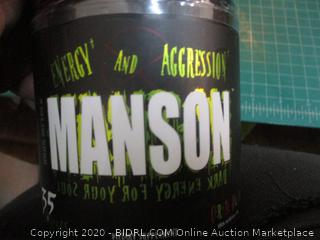 Energy and Aggression Manson dietary Supplement