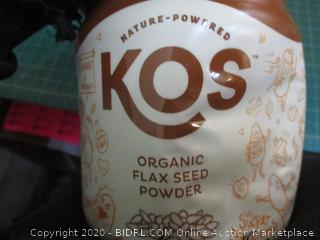 KOS Organic Flax Seed Powder