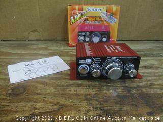 Kinter Amplifier HiFi Stereo see pictures