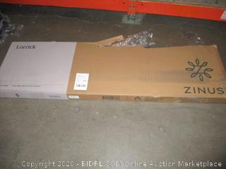"Zinus Full Quick Snap 8"" Platform Bed"