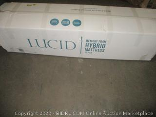 Lucid Memory Foam Hybrid Mattress Queen