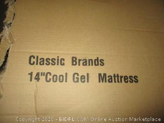 "Classic Brand 14"" Cool Gel Mattress Full"