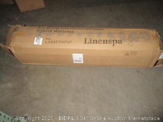 "Linenspa 8"" Spring and Memory Foam Hybrid Mattress full"