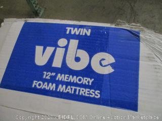 "twin Vibe 12"" Memory Foam Mattress"