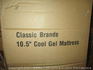 "Classic Brand 10.5"" Cool Gel Mattress Queen"