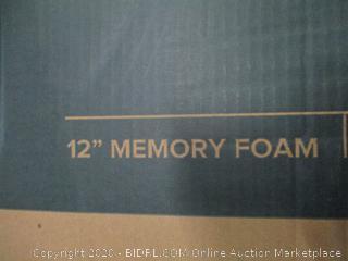 "Zinus 12"" Memory Foam King"