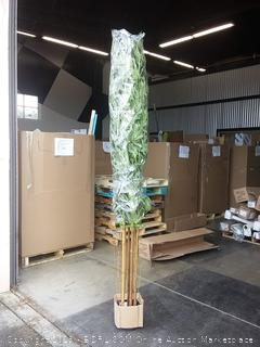 Nearly Natural 10 ft plastic Bamboo Tree
