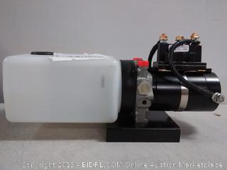 Lippert Components hydraulic power unit with two quart pump reservoir kit (missing cap) Online $728