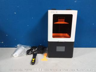 EPAX X1 UV 5.5 inch LCD 3D Printer, Orange Window with Ethernet Port  (powers on) online $447 - Come preview!