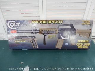 Soft Air COLT RIS Spring Rifle and Pistol On-Duty Kit