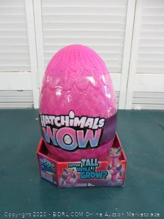 "Hatchimals Wow Llalacorn 32"" Tall Interactive with Re-Hatchable Egg"
