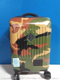 Herschel Trade Hardside Spinner Small Carry-on Luggage, Woodland Camo, 21.7-Inch Carry-On (online $179)
