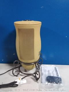 Lasko Designer Series Ceramic Space Heater-Features Oscillation, Remote, and Built-in Timer, Beige (online $46)