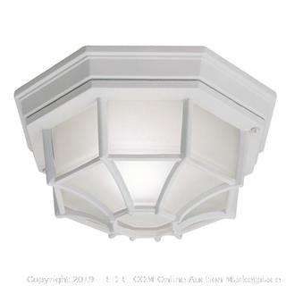 Hampton Bay exterior ceiling light(Factory Sealed)