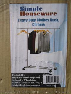 Smple Houseware Clothes Rack
