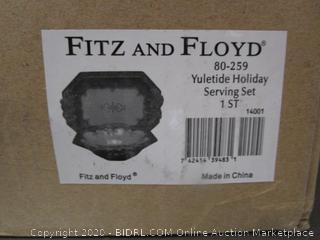 Fitz and Floyd Yuletuide Holiday Set (please preview)