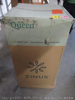 Zinus Queen Mattress (See Pictures)