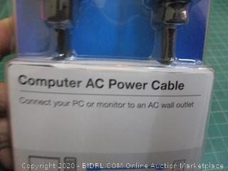 Belkin Computer AC Power Cable