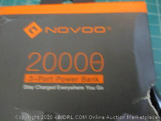 Novoo 3 Port Power Bank