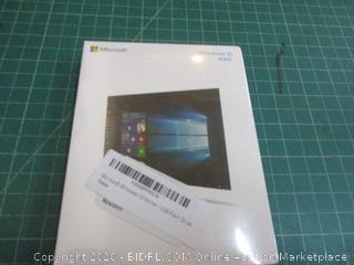Microsoft windows 10 Home Factory Sealed