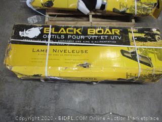 Black Boar Scraper Blade Implement
