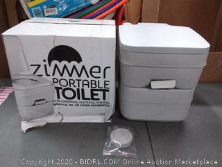 Portable Toilet Camping Porta Potty - 5 Gallon Waste Tank - Durable