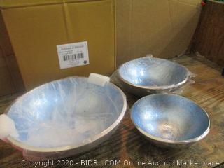 Artisan d' Orient Bowls  Light blue