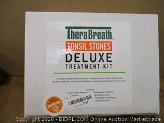 Thera Breath Tonsil Stone Deluxe Treatment Kit