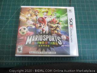 Nintendo 3DS Mario Sports Super Stars factory sealed