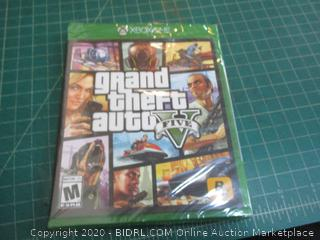 XBOXONE Grand Theft Auto factory sealed
