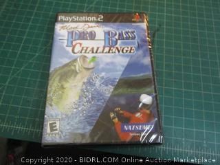 Play Station 2 Mark Davis Pro Bass Challenge factory sealed