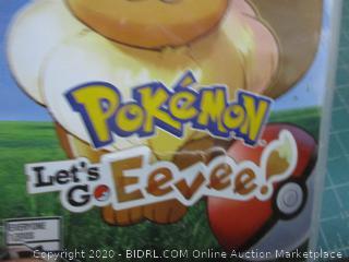 Nintendo Switch Polemon Let's go Eever