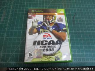 XBOX EA sports NCAA Football 2005