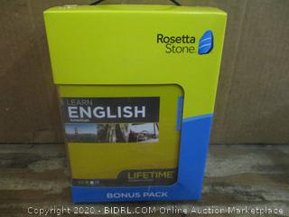 Rosetta Stone English Bonus Pack