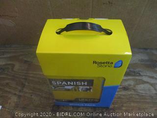 Rosetta Stone Spanish Bonus Pack Factory Sealed