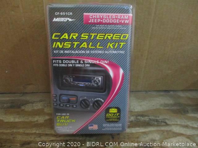 Bulk Car Stereo Kit Auction  - 840 N. 10th Street Sacramento - January 16