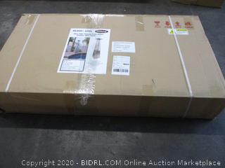 Glass Tube Propane Patio Heater (Sealed) (Box Damage)