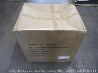 Heavy Duty Welded Steel Commode (Box Damage)