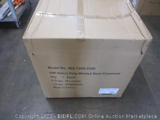 Heavy Duty Welded Steel Commode