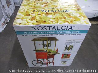 Nostalgia Professional Popcorn Cart (Sealed)