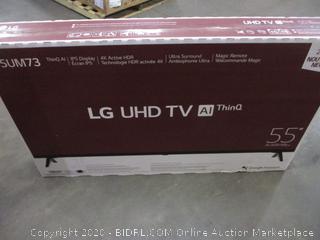 """LG UHD TV 55"""" (Sealed) (Box Damage)"""